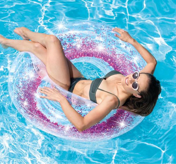 かわいい浮き輪ビーチボール